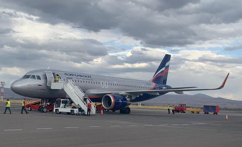 Aeroflot restarts flights from Gyumri to Moscow